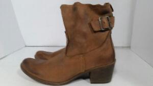 *JOE SANCHEZ - bottes en cuir  - femme taille 8 US ou 39 EU*