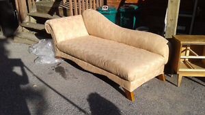 Lovely chaise lounge.