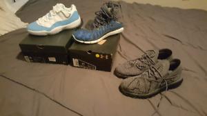 Jordans Nike Underarmour