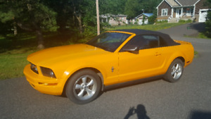 Ford mustang 2007 convertible
