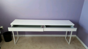 Ikea Besta Burs desk/ table with 2 drawers