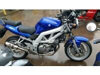 2004 54 SUZUKI SV650 K4 SV 650 BLUE NEW MOT NAKED ROADSTER HPI CLEAR