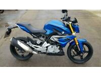 2018 18 BMW G310R G 310 R ABS NAKED BLUE A2 LICENSE NAKED ROADSTER BMW FSH