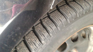 2011 Golf Snow Tires with Rims
