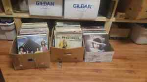 About 200 lesser condition lps. 40 for the lot.