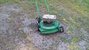 Lawn Boy 2 cycle push mower , excellent working mower !!