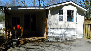FOR SALE:  Mobile Home & Add-a-Room, Shed, Contents (Guelph)