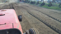 Rototilling and Mowing