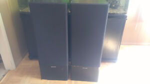 Set of Kenwood Floor Speakers