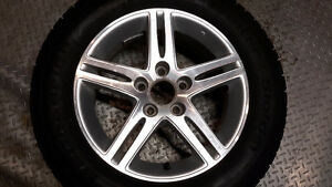 215 60 R16 Winter Tires on Honda Alloy wheels