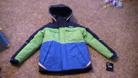 London Fog Boys Size 16 Winter Coat-4 in 1-with tags on