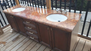 Luxurious Bathroom Double Vanity