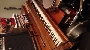 Free piano! Must pick up, needs a spring replacement on one key.