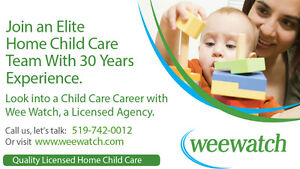 Child Care, Day Care - Become a Provider with Wee Watch Kitchener / Waterloo Kitchener Area image 5
