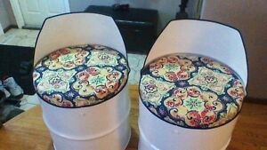 VERY COOL CHAIRS (recycled oil drums)