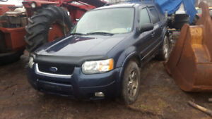 PARTING OUT FORD ESCAPE 4x4