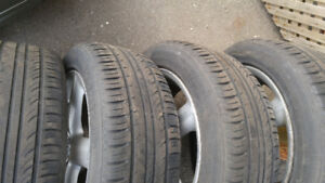 Toyota FOUR All Season Tires. Good Condition.