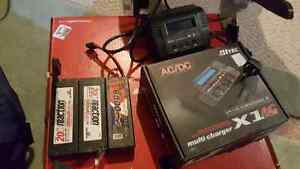 NEED GONE ASAP 3 rc lipo battery's and a charger