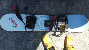 snowboard firefly 4 ft wide , 10 inch lenght 100$ obo