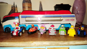 Camion & personnages * Paw Patrol* Truck & Character