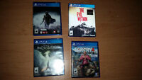 Sony PS4: Dragon Age, Shadow of Mordor, Far Cry 4, Evil Within