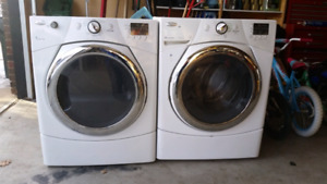 Whirlpool washer/dryer stackable