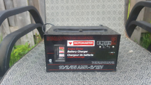 Moto master car battery charger