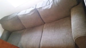 Leon's green couch