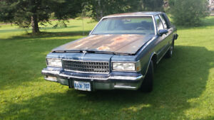 1989 chev caprice for sale
