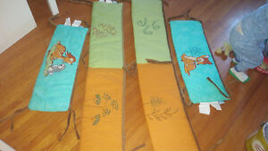 Bambi crib bumper pads
