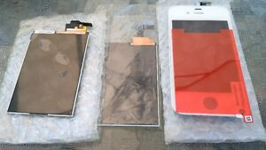 Apple iPhone 4th 5th 6th Gen parts screens and Apple iPod parts