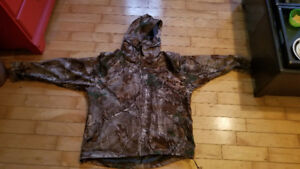 Men's large Camo Light Coat