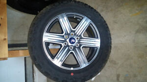 2018 ford f150 rims and tires 275/55R20