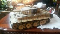 RC 1/16th Tiger and T-72 inferred tanks