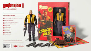 wolfenstein the new colossus collector edition ps4 brand NEW