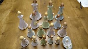 Growing Up Birthday Girls from Enesco