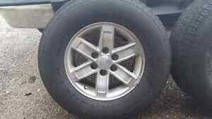 Factory GMC wheels and tires Kitchener / Waterloo Kitchener Area image 2