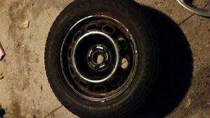 Winter Nordic Icetrac Tires P205/60 R15 Kitchener / Waterloo Kitchener Area image 2