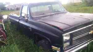 84 Chevy 4x4 great project