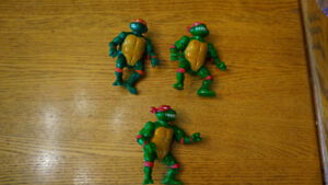 Lot de figurines Ninja Turtles