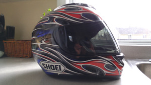 Casque de moto Shoei XS