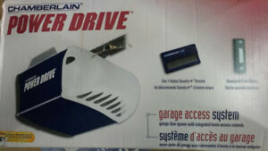 NEW GARAGE DOOR AND 1/2 HP POWER DRIVE FOR $200.00 OBO