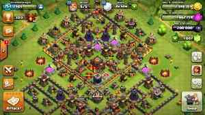 Clash of Clans Maxed TH10 (Heros 40/40) & TH9 Combo London Ontario image 2
