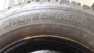 Set of 4 winter tires and rims 215/65R16