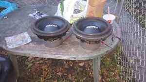 Freshly reconed Obsidian Audio 12s dual 2