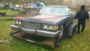 1973 Buick Riviera for parts
