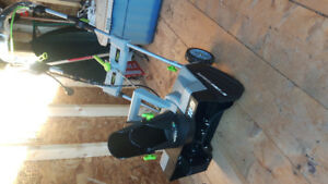 18 inch earthwise electric snow thrower