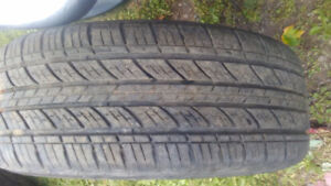 4 tires and rims 205/55/R16