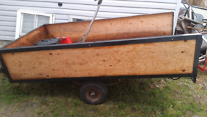 Ubuilt trailer with registration
