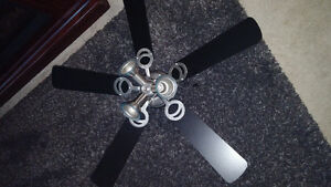 very beautiful ceiling fan with 3 tear light London Ontario image 1